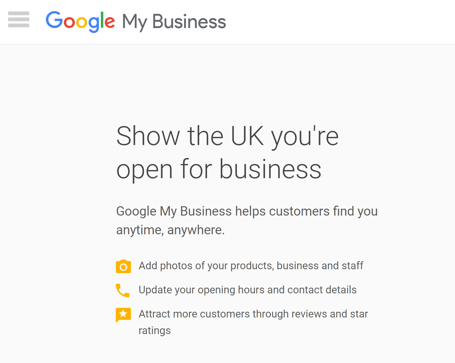 remove google my business listing